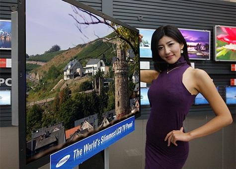 Dunne tv van Samsung