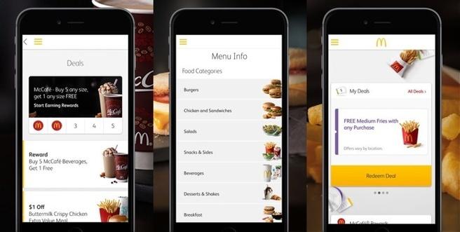 macdonalds app