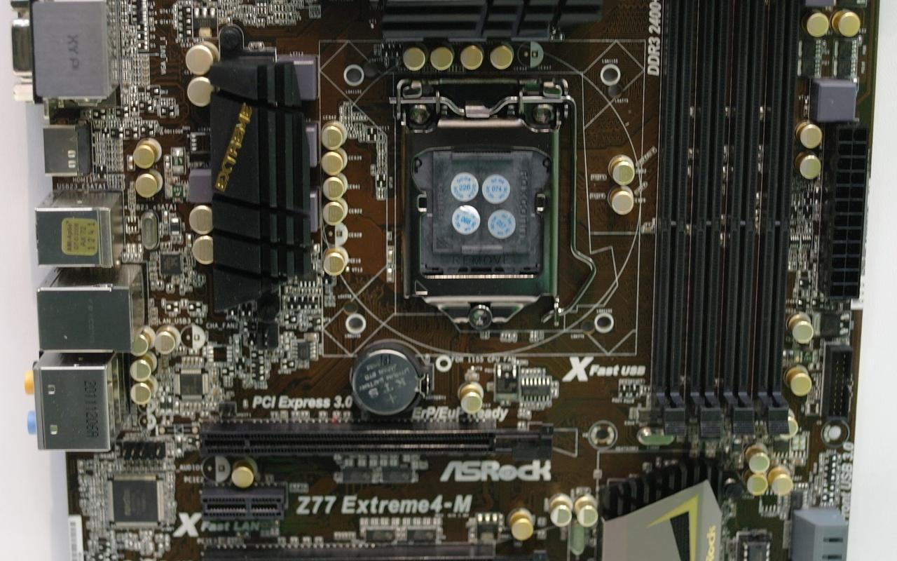 Asrock Z77 Extreme4-M