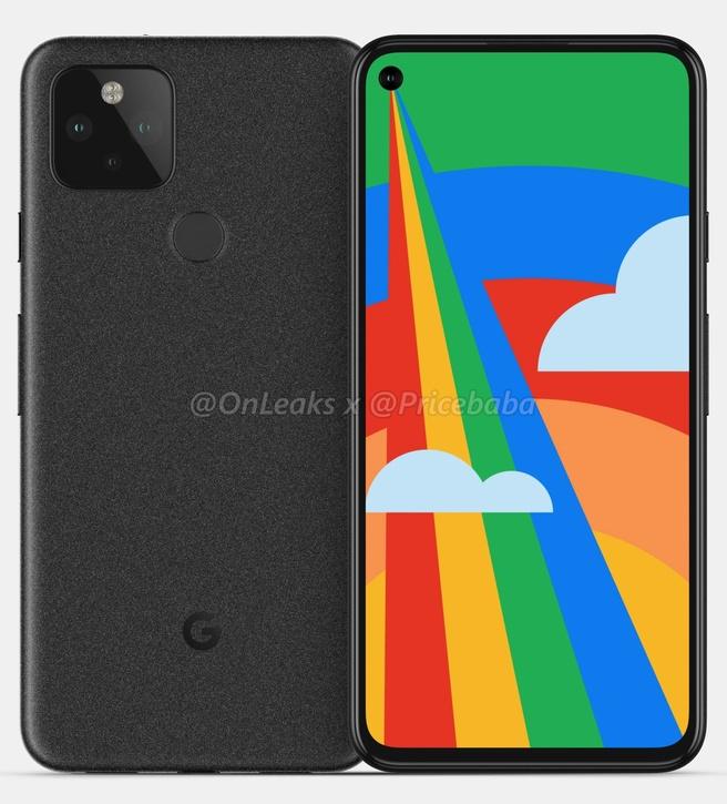 Google Pixel 5 gerucht OnLeaks
