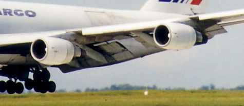 Engines van een 747-400