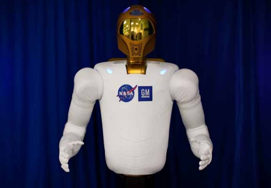 Robonaut 2, of R2