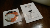 Ebode IPV58P2P inhoud verpakking Quick start en CD-ROM