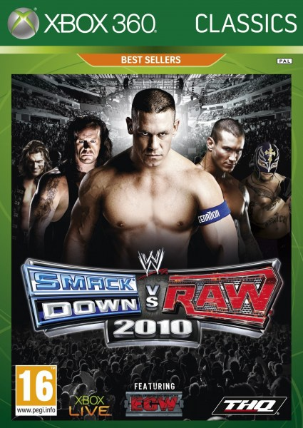 WWE: SmackDown vs Raw 2010 (Classics) , Xbox 360
