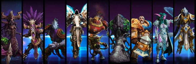 Heroes of the Storm top
