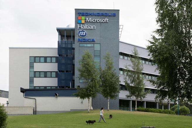 Microsoft-gebouw in Oulu