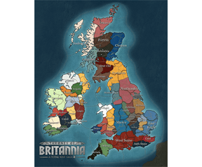 Total War Saga: Thrones of Britannia map