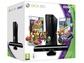 Goedkoopste Microsoft Xbox 360 Slim 4GB + Kinect Adventures + Kinect Joyride + Kinect Zwart
