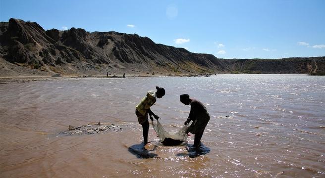 Congo kobalt water