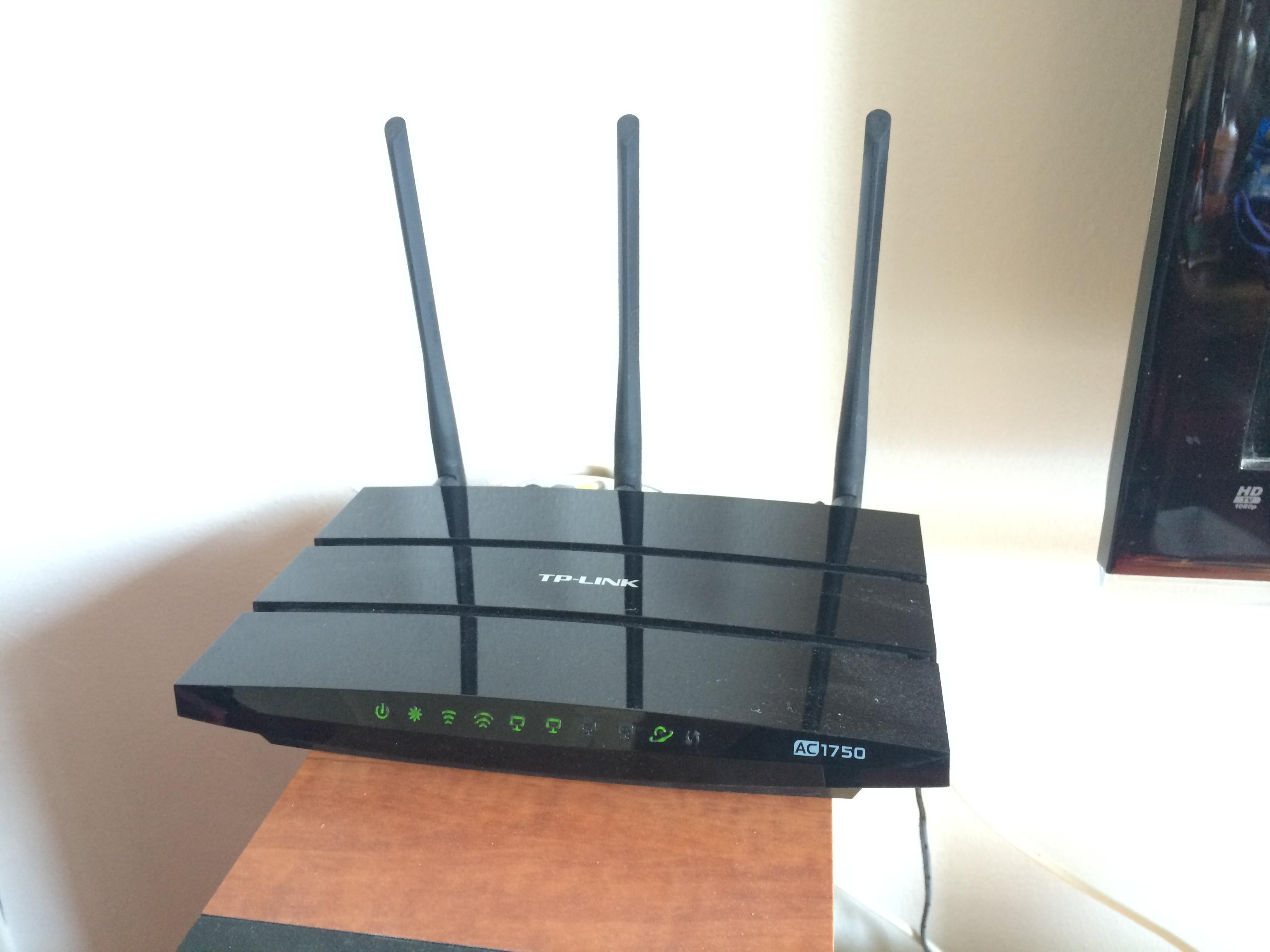 TP-Link AC1750 Draadloze dual-band gigabit router Archer C7