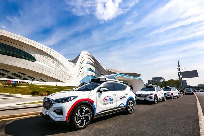 Baidu zelfrijdende auto