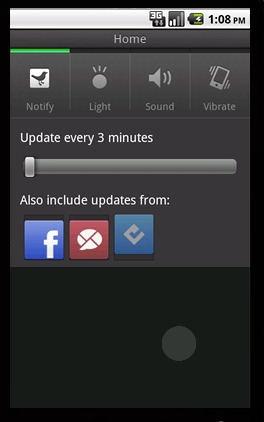Tweetdeck Settings on Android