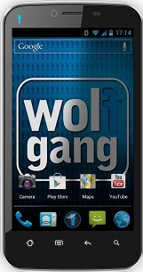 Wolfgang-smartphone bij Aldi