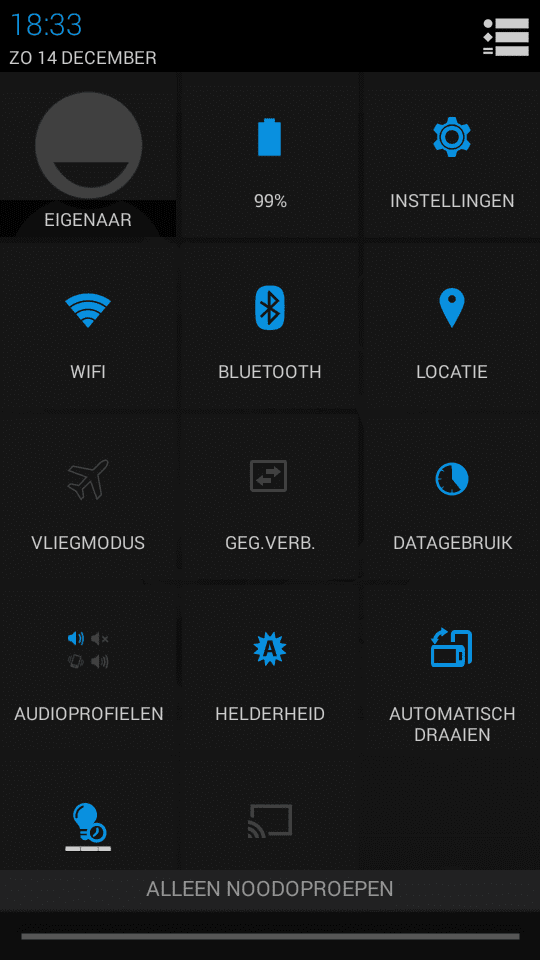 Android thema Cubot