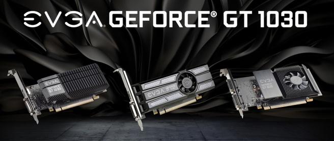 EVGA GT 1030-videokaarten