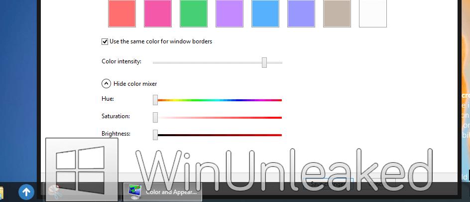 Screenshots Windows 8 zonder Aero Glass verschijnen