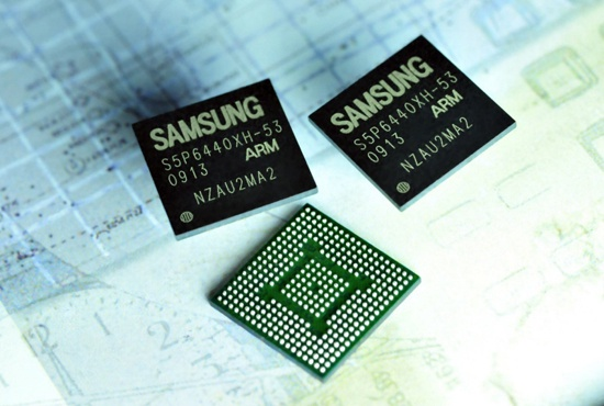 Samsung-cpu voor mobieltjes