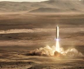 SpaceX Mars Base Alpha en BFR