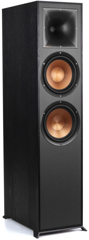 Klipsch R-820F Vloerstaander speaker Zwart (Zwart)