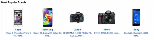 Populairste camera's op Flickr