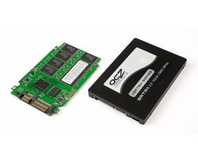OCZ Vertex 30GB behuizing en printplaat