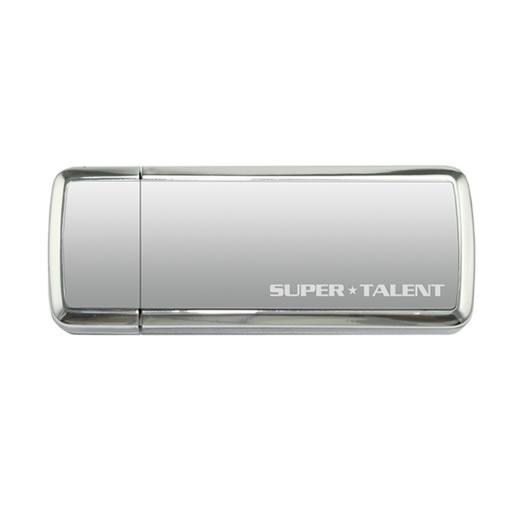 Super Talent USB 3.0 SuperCrypt Drive 16GB Zilver