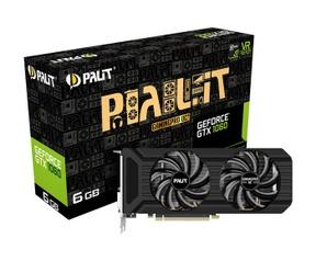 Nvidia GTX 1060 gddr5x Gigabyte Palit