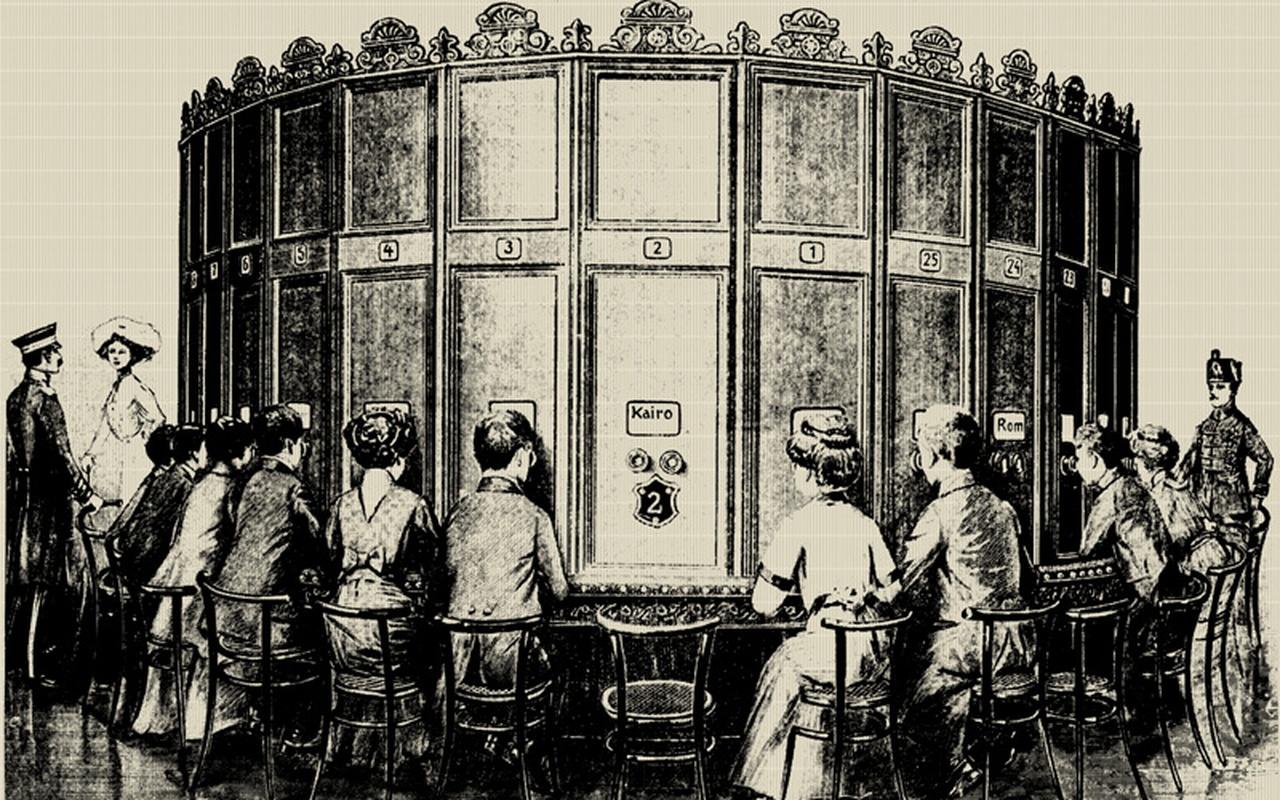 'Virtual reality' van vroeger
