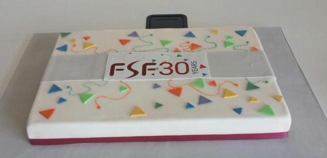 FSF taart