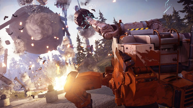 Just Cause 3 Land Mech Assault