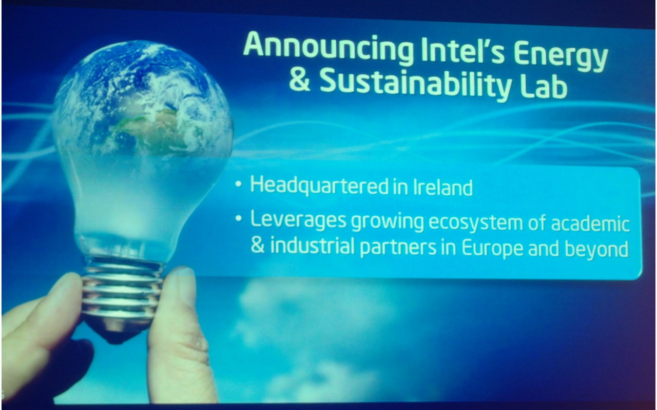 Intel Labs: aankondiging Energy And Sustainability Lab
