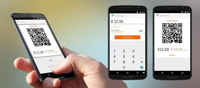 ING Bankieren App QR-code