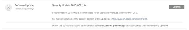 Apple Security Update 2015-002 1.0