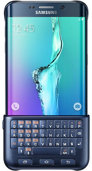Samsung Galaxy S6 EdgePLUS Keyboard Cover Origineel - Zwart