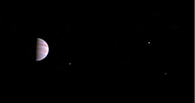 Juno 10 juli NASA