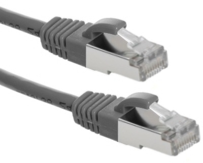 Eeconn Cat.6 S/FTP Patchkabel, AWG26, PVC, Grijs, 5m