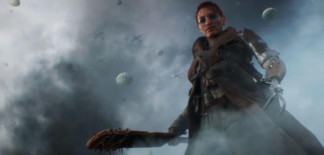 Battlefield V vrouw