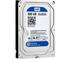 WD Blue WD5000AAKX, 500GB