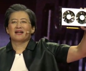 AMD Radeon VII tijdens keynote AMD
