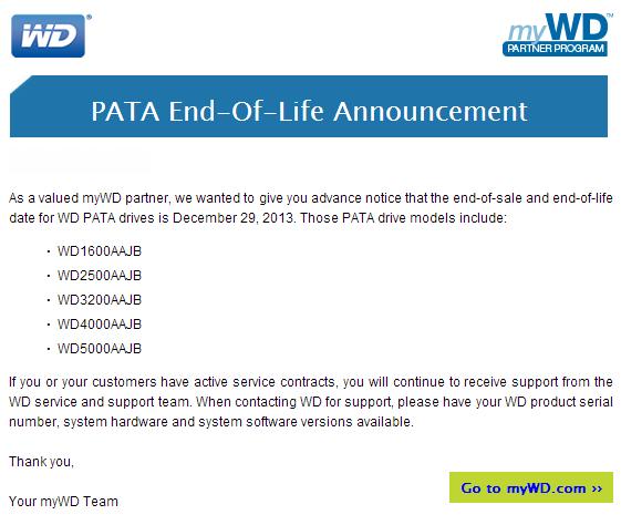 WD Pata