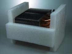 CM koelerblok in schuimplastic II