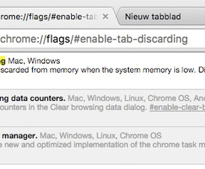 Chrome Canary Tab Discard
