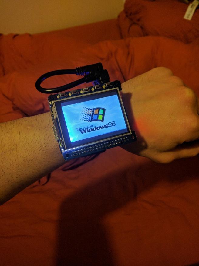 Windows 98 wearable