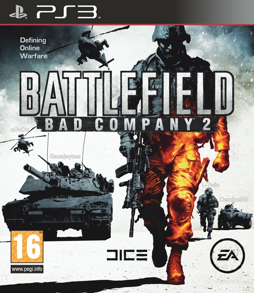 Packshot voor Battlefield: Bad Company 2