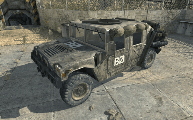 Humvee in Call of Duty