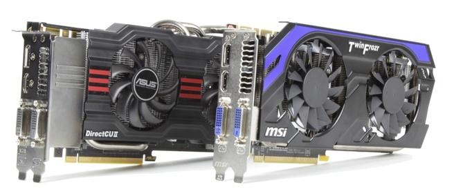 Twee Geforce GTX 660 Ti-kaarten