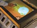 Microsoft Surface in telecomwinkel - toestel op tafelcomputer