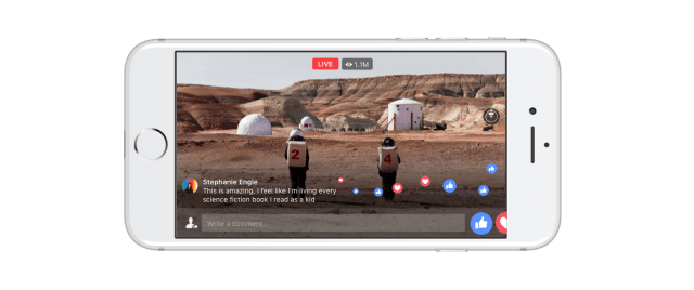 facebook 360 graden livestream