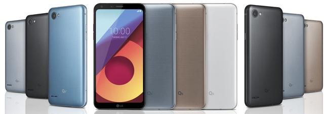 LG Q6-serie