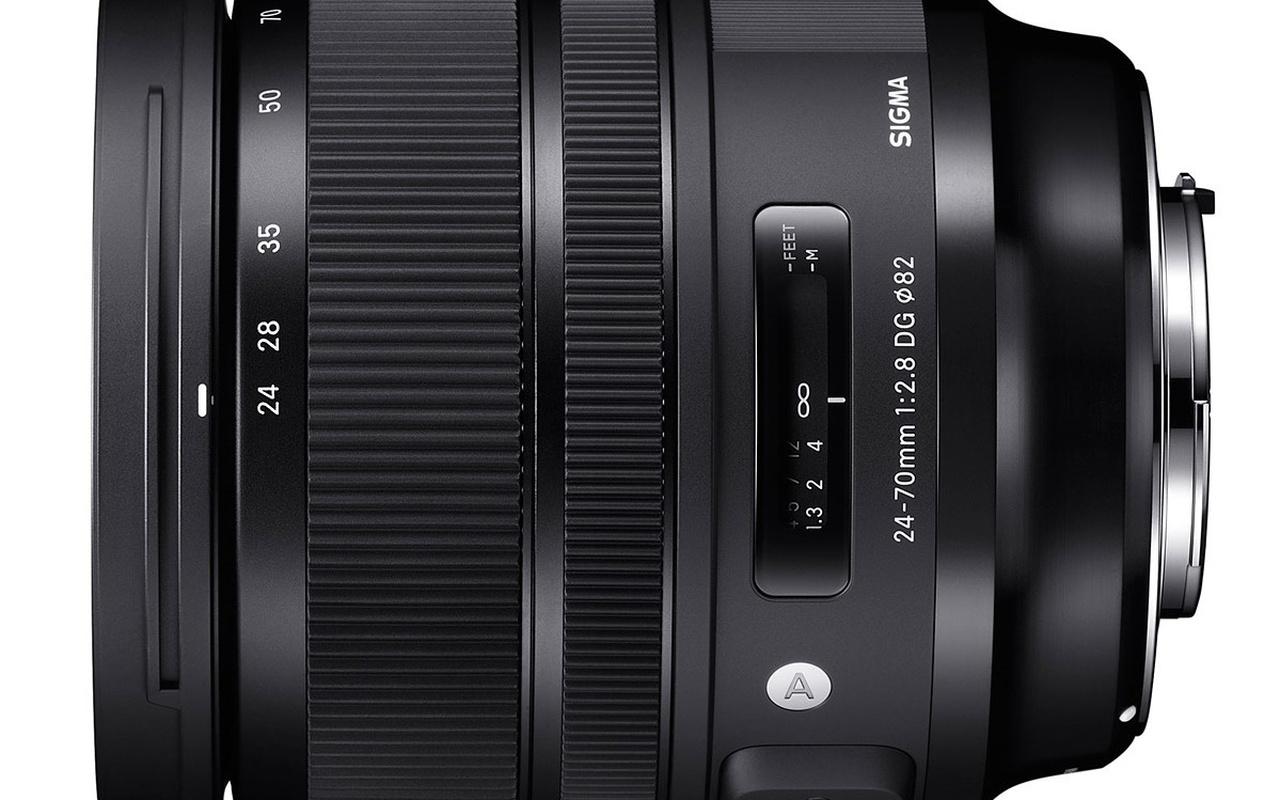 Sigma 14mm, 135mm en 24-70mm Art
